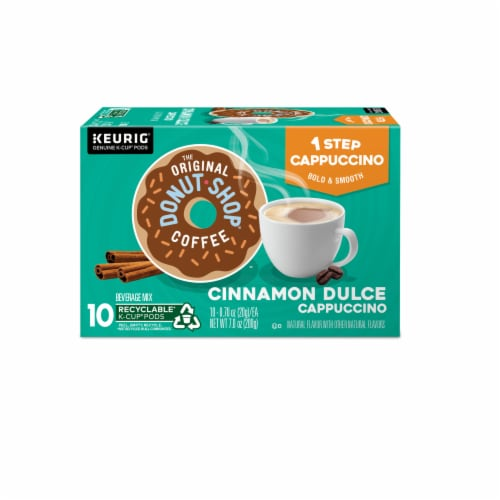 The Original Donut Shop Cinnamon Dulce Cappucino K-Cup Pods Perspective: back