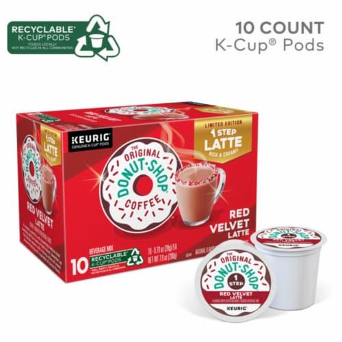 The Original Donut Shop® Red Velvet Latte K-Cup® Coffee Pods Perspective: back