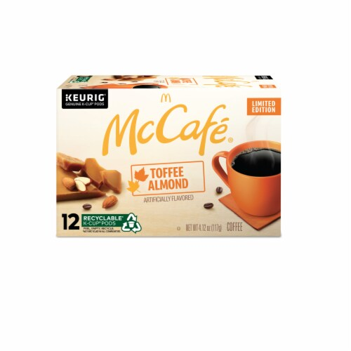 McCafe® Toffee Nut K-Cup Pods Perspective: back