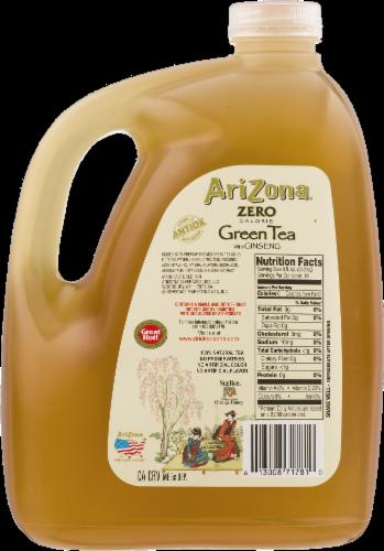 Arizona Diet Green Tea Perspective: back