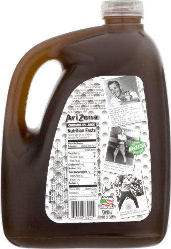 AriZona Arnold Palmer Zero Calorie Iced Tea and Lemonade Perspective: back