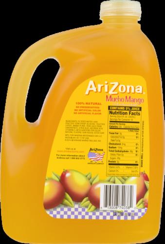 AriZona Mucho Mango Fruit Juice Cocktail Perspective: back