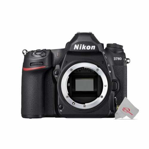 Nikon D780 Fx-format Dslr Camera Body With Two Pcs Xpdenel15 Replacement Battery Perspective: back