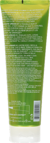 Bed Head Urban Anti+dotes Re-Energize Shampoo Perspective: back