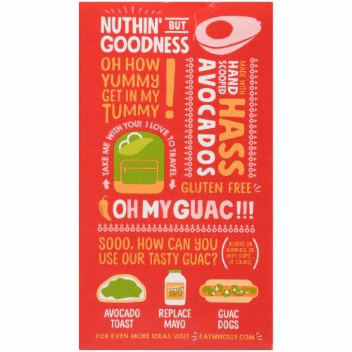 Wholly Guacamole® Spicy Hot Guacamole Minis Perspective: back
