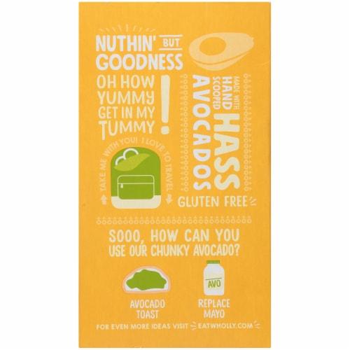 Wholly Guacamole® Chunky Avocado Minis Perspective: back