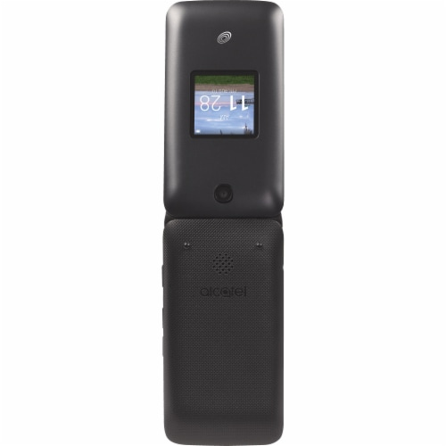 TracFone Wirless MyFlip 2 A406 Non-Contract Cellphone - Black Perspective: back