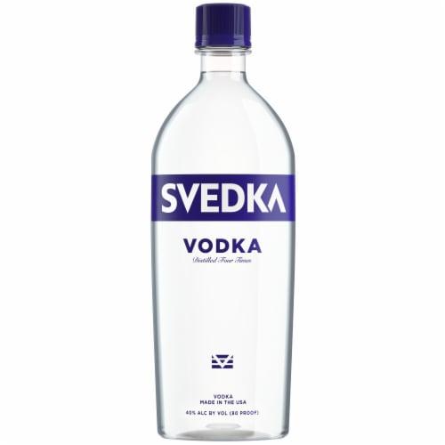 Svedka Vodka Perspective: back