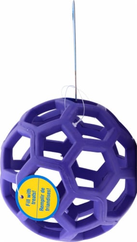 JW Pet JW Pet Holee Roller Tug and Treat Ball Perspective: back