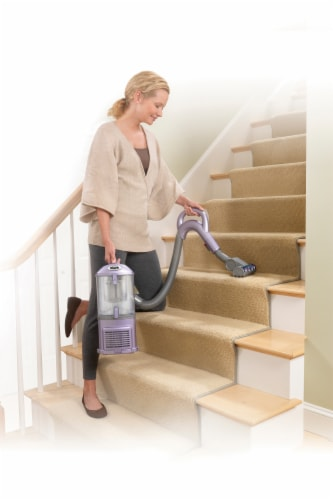 Shark® Navigator Lift-Away Upright Canister Vacuum Perspective: back