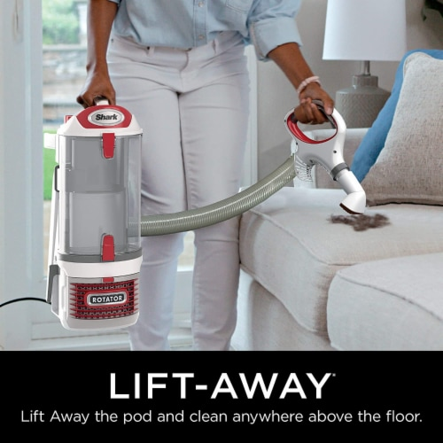 Shark® Rotator Pro Lift-Away Vacuum Perspective: back