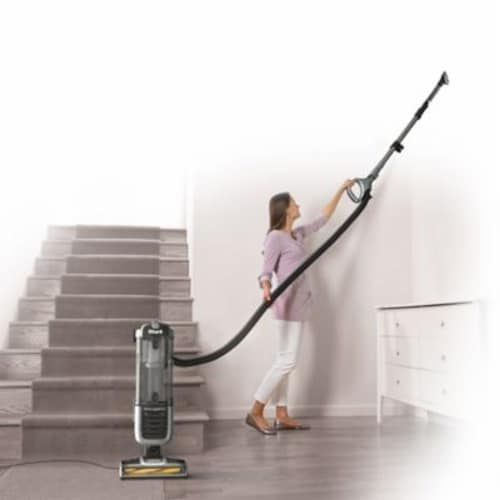 Shark® Navigator ZU62 Pet Pro Self-Cleaning Brushroll Upright Vacuum Perspective: back