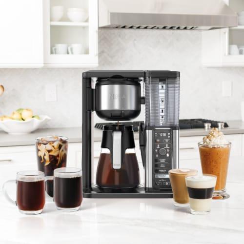 Ninja® Specialty Coffee Maker - Black/Silver Perspective: back