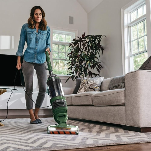 Shark® ZU782 Rotator Lift-Away DuoClean Pro Upright Vacuum Perspective: back