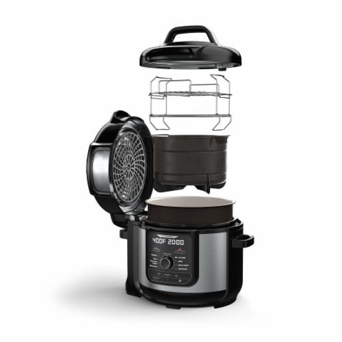 Ninja® Foodi 9 in 1 Deluxe XL Pressure Cooker & Air Fryer Perspective: back