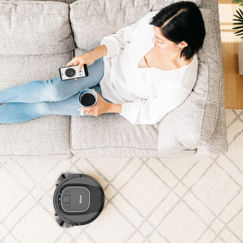 Shark® ION Robot Vacuum with Wi-Fi Perspective: back