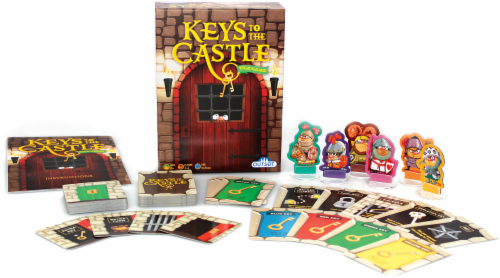 Outset Media® Keys to the Castle Tile Game Perspective: back