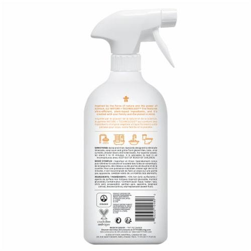 Attitude Citrus Zest Bathroom Cleaner Perspective: back