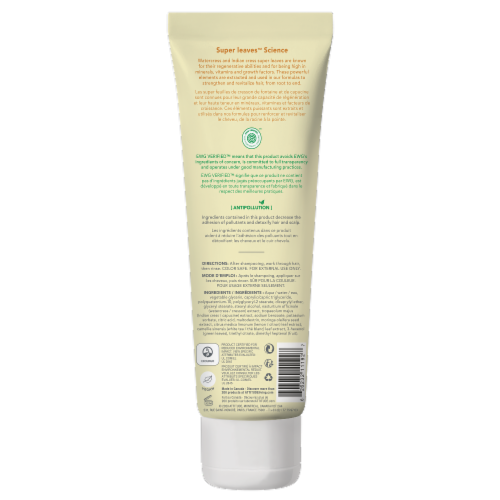 Attitude Super Leaves Lemon and White Tea Clarifying Conditioner Perspective: back