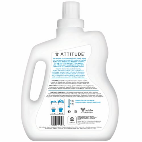 Attitude Wildflowers Fabric Softener Perspective: back