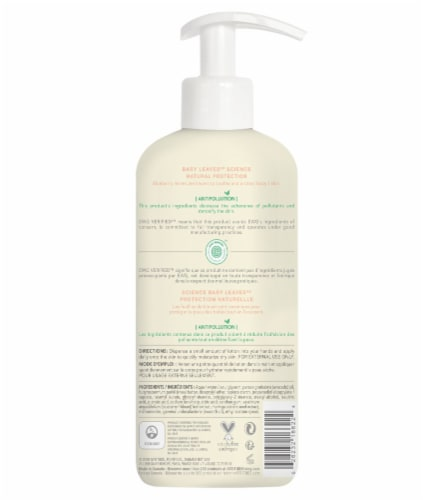 Attitude Pear Nectar Body Lotion Perspective: back