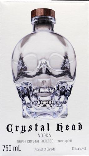 Crystal Head Vodka Perspective: back