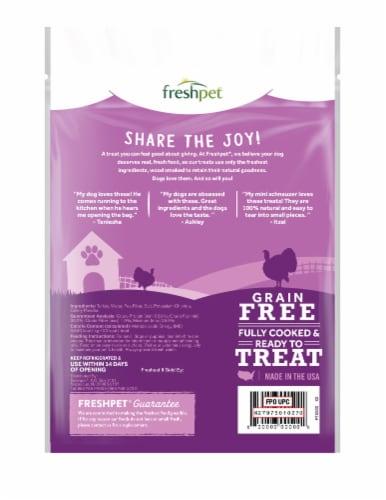 Freshpet Dog Joy Turkey Bacon Dog Treats Perspective: back