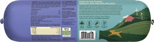 Freshpet Nature's Grain Free Turkey Recipe Wet Dog Food Roll Perspective: back