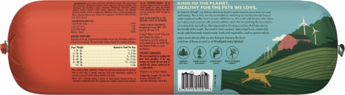Freshpet Balanced Nutrition Beef Recipe Wet Dog Food Perspective: back