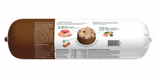 Freshpet Multi-Protein Chicken Beef Egg and Salmon Recipe Perspective: back