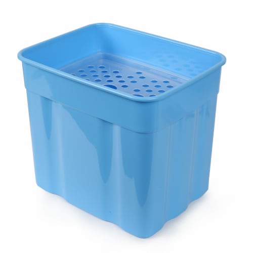 Arctic Zone Ultimate Zipperless Cooler - Blue Perspective: back