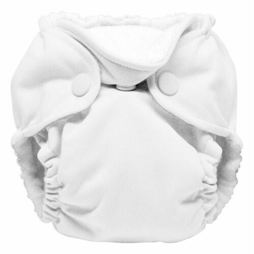 Kanga Care Lil Joey Newborn All in One AIO Cloth Diaper (2pk) Fluff 4-12lbs Perspective: back