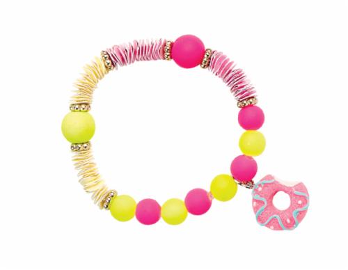 Modern Wonder Candy Bead Bracelet - Large Perspective: back