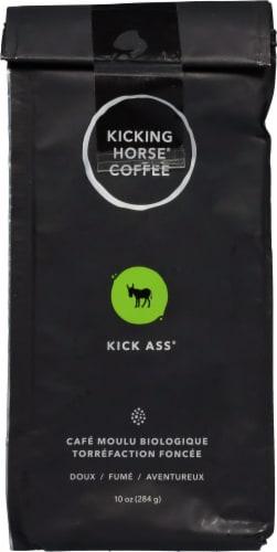 Kicking Horse Coffee Kick Ass Dark Ground Coffee Perspective: back