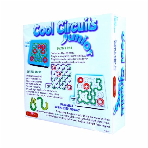 ScienceWiz Cool Circuits Junior Perspective: back