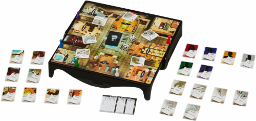 Hasbro Gaming Clue Grab & Go Board Game Perspective: back