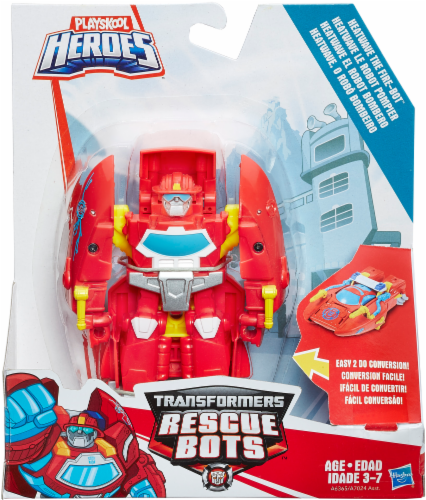 Hasbro Playskool Heroes Transformers Rescue Bots Action Figure - Assorted Perspective: back