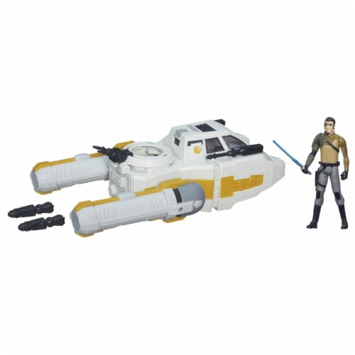 Star Wars Class I Deluxe Vehicle - Y-Wing Scout Bomber Perspective: back