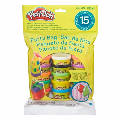 Hasbro Play-Doh Party Bag Perspective: back