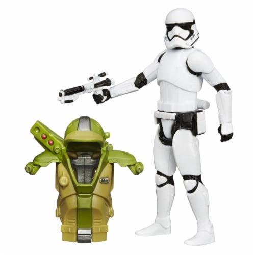 "Star Wars 3.75"" Armor Figure - First Order Stormtrooper Perspective: back"