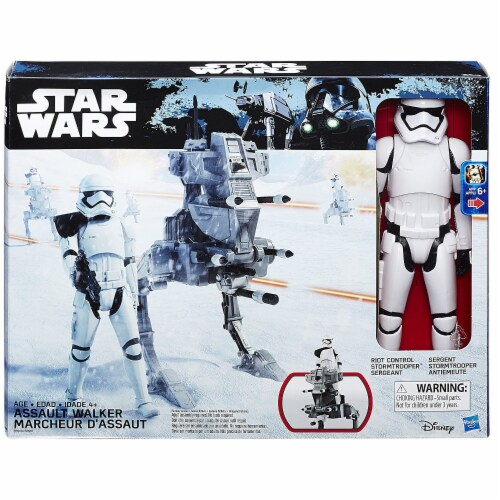 Star Wars The Force Awakens 12-inch Assault Walker Perspective: back