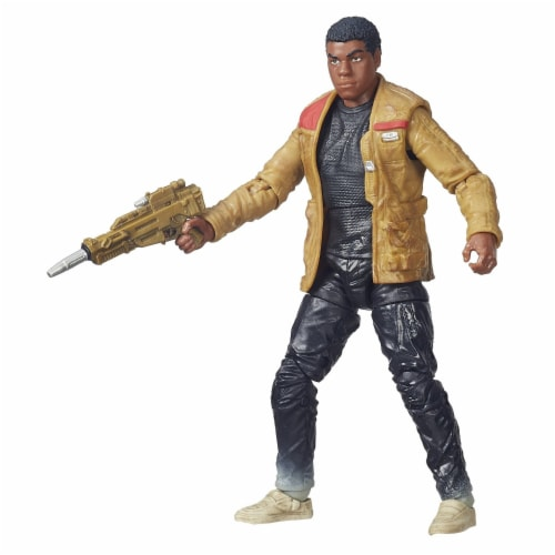 Hasbro Starwars Finn (Jakku) Action Figure Perspective: back