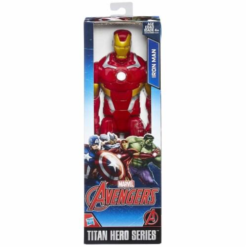 Hasbro Marvel Avengers Titan Hero Series Iron Man Action Figure Perspective: back