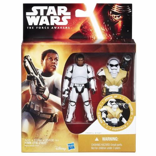 Star Wars: The Force Awakens 3.75 Inch Figure Desert Mission Armor Finn (FN-2187) Perspective: back