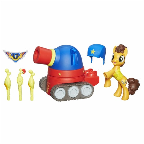My Little Pony Guardians of Harmony Cheese Sandwich Pony with Party Tank Perspective: back