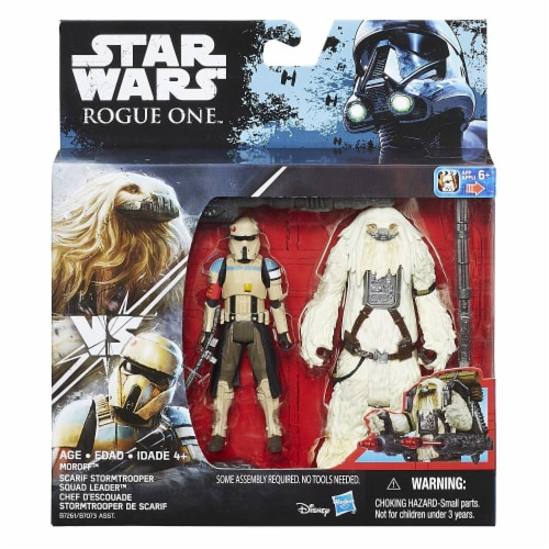 Star Wars Rogue One Scarif Stormtrooper & Moroff Deluxe Pack Perspective: back