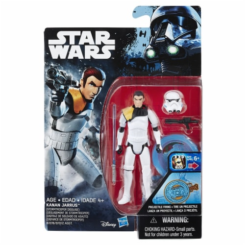 Hasbro Disney Star Wars Rebels Kanan Jarrus Stormtrooper Disguise Figure Perspective: back