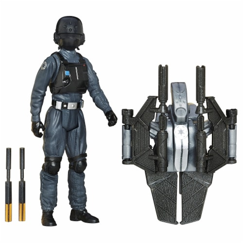 Hasbro Disney Star Wars Rogue One Imperial Ground Crew Figure Perspective: back