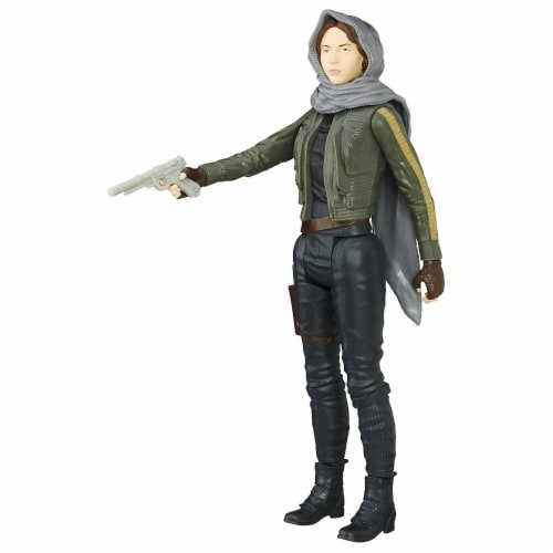 Star Wars Rogue One 12-Inch Sergeant Jyn Erso Figure Perspective: back