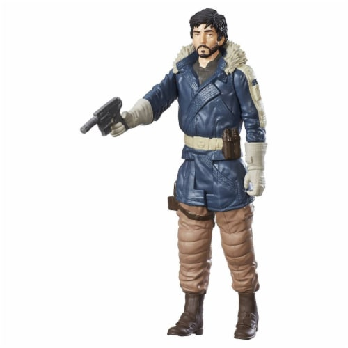 Star Wars Rogue One 12-Inch Captain Cassian Andor Jedha Perspective: back